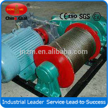 Slow Speed Mine Winch with Electric Motor