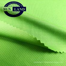 Tissu 100% polyester à mailles gaufrées anti-UV