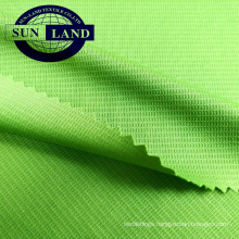 knitted polyester dry fit mini waffle anti-UV fabric for sportswear
