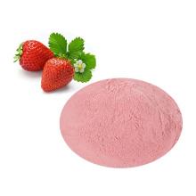 Polvo de fresa orgánico puro natural FD