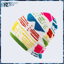 Новый продукт вязаная пряжа шляпа, сделанные в Китае