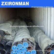 API X 52/X 65 tubo/pipa de acero inconsútil