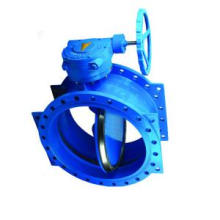Electric Double Flanged Eccentric Butterfly Valve