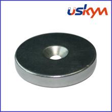 N35 NdFeB Ring Magnet avec Countersunk (R-012)