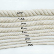 Factory Outlet Good Quality 4mm-20mm Cotton Rope
