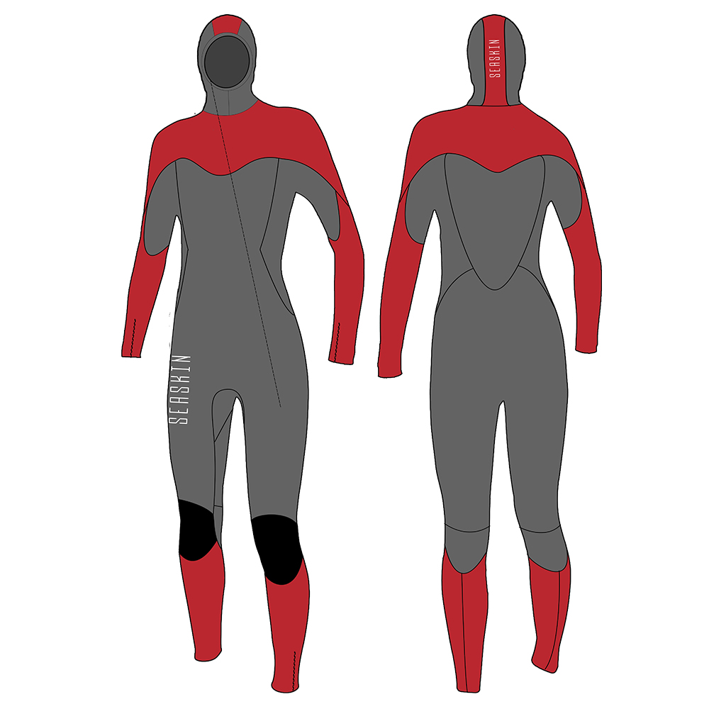 Hooded Lady Wetsuits