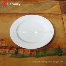 BSCI SEDEX одобрил дешевую фарфоровую тарелку
