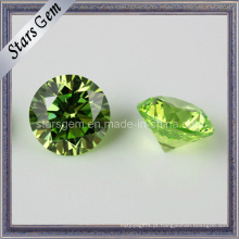 Semi-Preciosa Pedra verde zircônia cúbica
