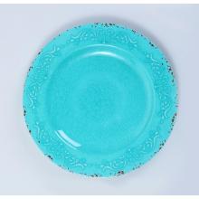 круглая обеденная тарелка из меламина для всех порций
