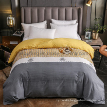 Made in China Duvet Cover High Quality Comfortable Cotton Printed for 4PCS King Bedding Set