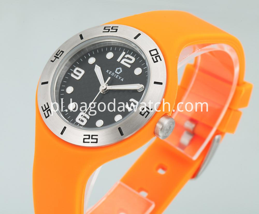 Silicone Womens Watch
