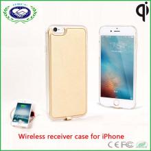 Крышка заряжателя случая заряжателя Qi беспроволочного Qi для iPhone 6s / 6