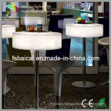 Outdoor Bar Furniture with RGB 16 Light Colors