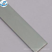 Anodizado barra de alumínio natural 6061 6063 liga T5 temperado barra de alumínio plana
