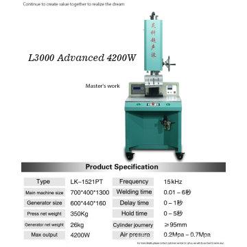 Machine à souder ultrasonique 4200W pour voiture Horn