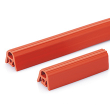 Red Silicone Sponge Rubber Gasket