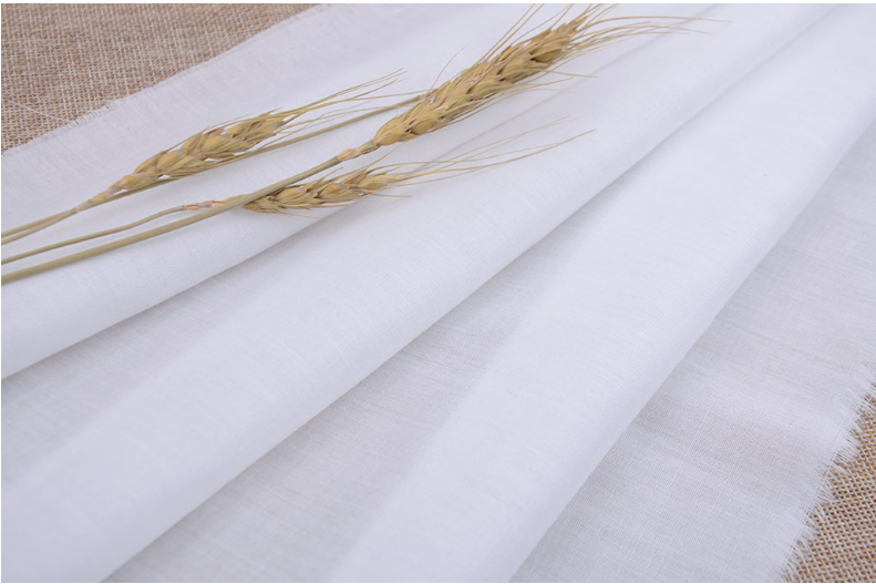 white pocketing fabric