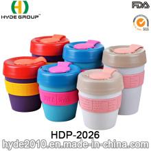 High Quality Removable Lid Small Plastic Travel Mug (HDP-2026)