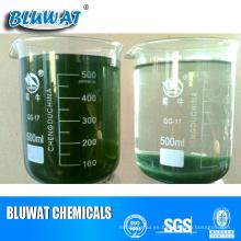 Polímero de descortezado de aguas residuales para el proceso de tratamiento de agua