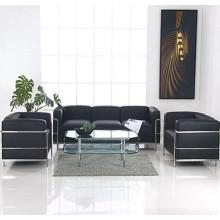 LC3 Le Corbusier Sofa de bureau en cuir du Sofa de réception de bureau moderne
