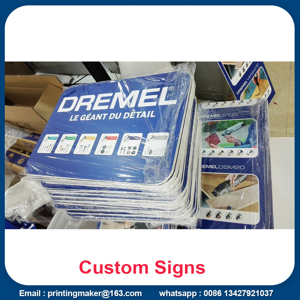 pvc sheet board signs
