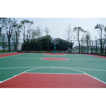 Silicon PU Basketball Court Flooring Materials