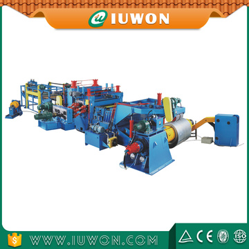 Steel Coil Slitting Line dengan Slitter Machine