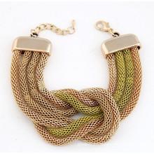 Nouveaux modèles bracelets bijoux en or saudite en gros Chine