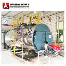 LPG Fuel Industrial Steam Boiler للبيع