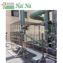 Depurador de tratamiento de gases de combustión para el tratamiento de la contaminación del aire