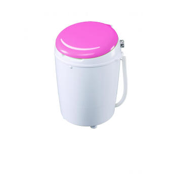 Pink Cover 3.5KG Mesin Cuci Mini Single Tub