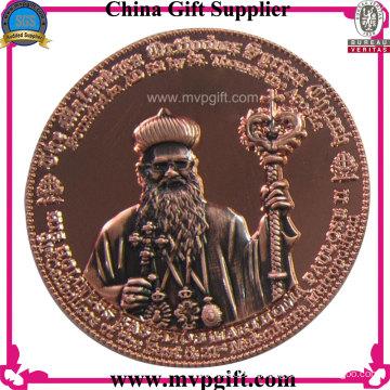 Metallmünze für Auszeichnungen Geschenk