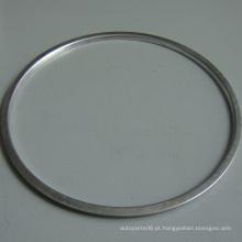 Alumínio Stamping anel com Shot Blasted