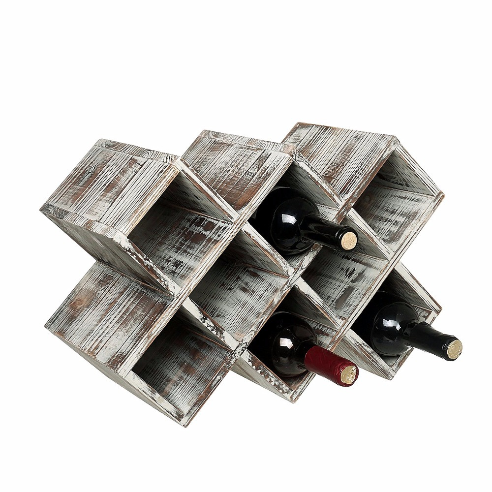 Antique kitchen furniture 8 bottles Custom wine rack