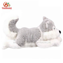 Realistic plush dog husky dogs that look real plush toy