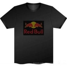 led t shirt custom