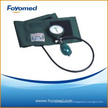 Grande qualidade palma tipo aneroid esfigmomanômetro plástico shell diâmetro 65 milímetros dial
