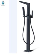 Faucet de banheira auto falante preto e preto com design novo