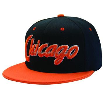 fashion custom designed flat bill snapback caps