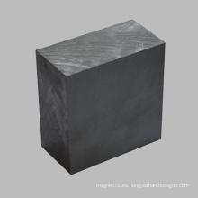 Imán Permanente de Ferrita Rectángulo Bloque Material Cerámico