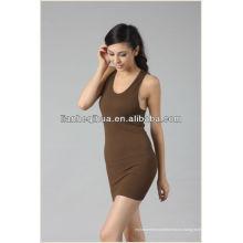 Юбка втулки женщин способа высокого качества, оптовой вязать юбка женщин безшовная