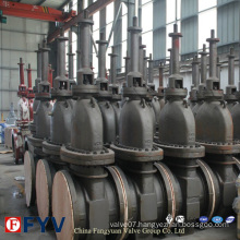 Industrial Parallel Gate Valve for Gas Oil