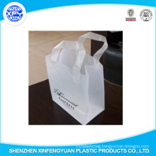 Manufacturer Printing Custom Logo Handle Plastic Bag