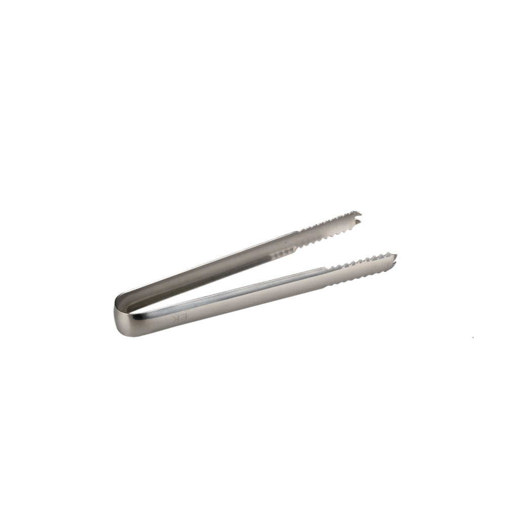 satinless steel ice tong