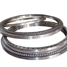 Three Row Large Size No Gear Cross Roller Rotary Table Bearing