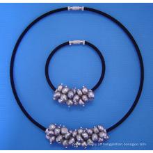 Conjunto de joia da pérola (SET33)