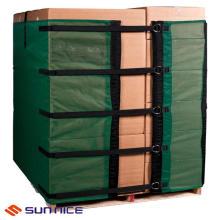 Película de envoltura de paleta reutilizable para envases de cartón con alta estabilidad