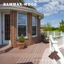 UV Resistant No Painting Treating or Costly Maintenance Free Sample Garden Composite Flooring Plank