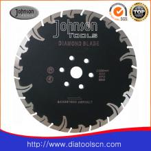 Lame de scie à diamant fritté à turbine de 230 mm