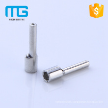 Hot selling copper 0.5-6mm naked electrical Non-insulated pin terminals